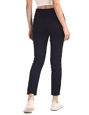 SUGR Blue Mid Waist Rinsed Jeans