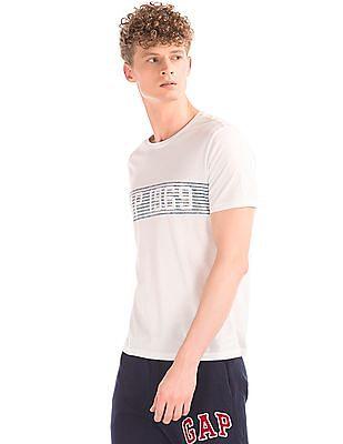 GAP Stripe Logo Short Sleeve Tee