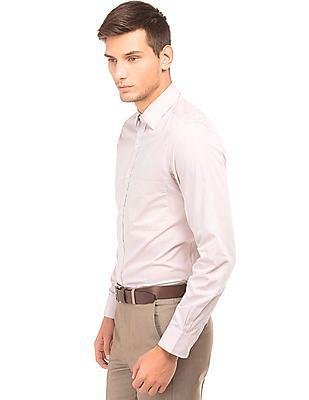 Arrow Regular Fit Tattersall Shirt