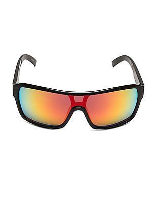 Flying Machine Tinted Wrap Sunglasses