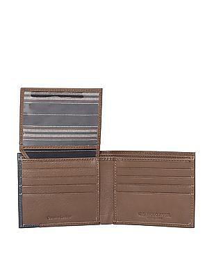 U.S. Polo Assn. Colour Block Leather Wallet