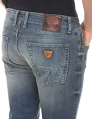 Ed Hardy Stone Wash Slim Fit Jeans