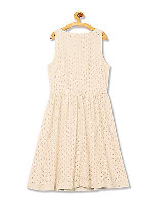 Gant Voile Broderie Anglais Dress