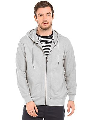 Nautica Hooded Heathered Sweatshirt