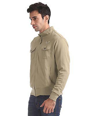 U.S. Polo Assn. Denim Co. Standard Fit Zip Up Sweatshirt