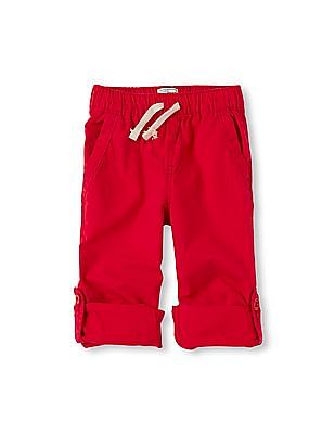 The Children's Place Boys Roll-Up Pants