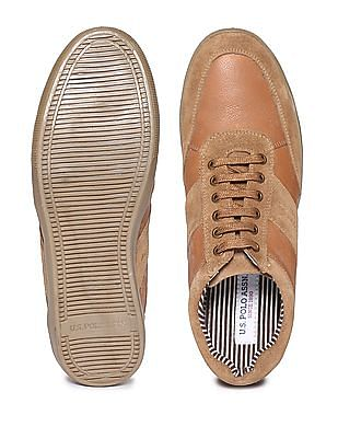 U.S. Polo Assn. Contrast Panel Low Top Sneakers