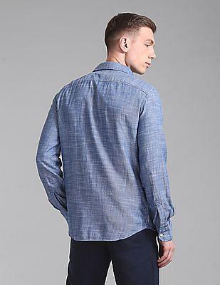 GAP Slim Fit Chambray Shirt
