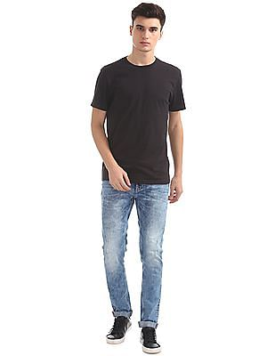 Ed Hardy Super Slim Fit Washed Jeans