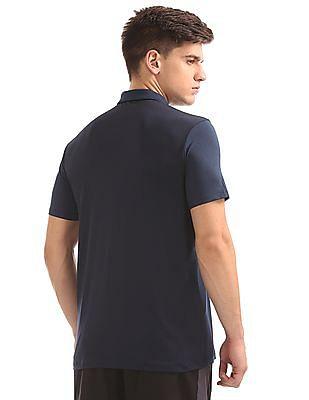 USPA Active Zip Placket Active Polo Shirt