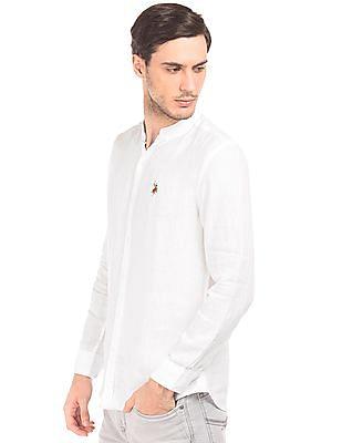 U.S. Polo Assn. Denim Co. Linen Slim Fit Shirt
