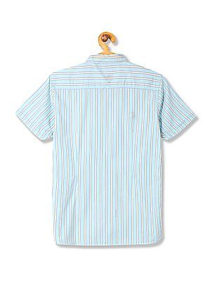 U.S. Polo Assn. Kids Boys Standard Fit Striped Shirt