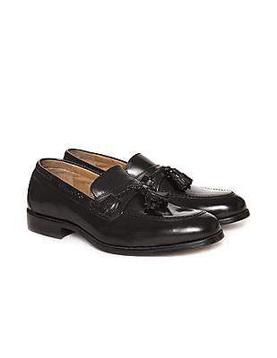 Johnston & Murphy Tasselled Leather Loafers