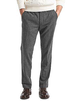 GAP Textured Wool Blend Slim Fit Trouser