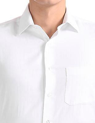 Arrow Regular Fit Solid Shirt