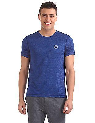 USPA Active Heathered Equi Dry T-Shirt