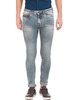 Ed Hardy Light Wash Super Slim Fit Jeans