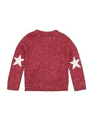 Nautica Kids Girls Sweater T-Shirt Jeans Set