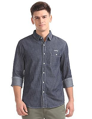 Cherokee Regular Fit Striped Shirt