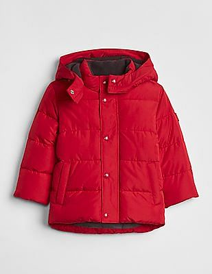 GAP Baby Red Cold Control Max Puffer Jacket