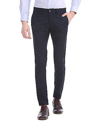 U.S. Polo Assn. Austin Trim Regular Fit Solid Trousers