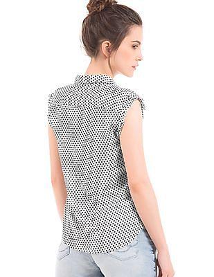 Elle Printed Regular Fit Shirt
