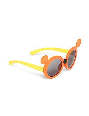 Unlimited Boys Mickey Mouse Frame Colour Block Sunglasses