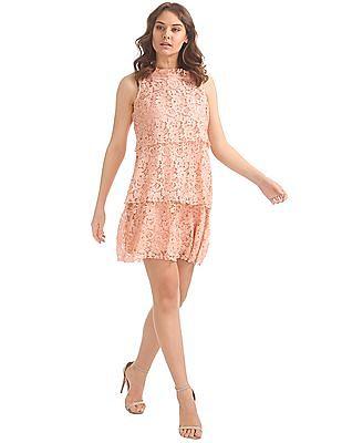Elle Tiered Lace Dress