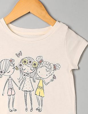 GAP Toddler Girl Graphic T-Shirt