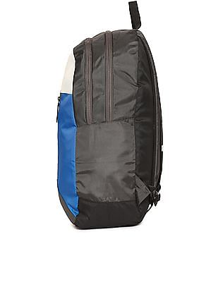 Flying Machine Colourblocked Laptop Backpack
