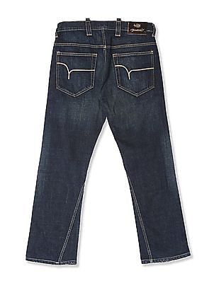 Flying Machine Blue Slim Fit Bootcut Jeans