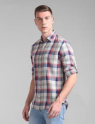 GAP Slim Fit Check Shirt