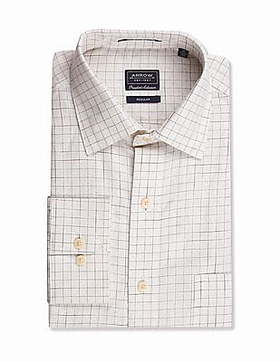 Arrow Regular Fit Cutaway Collar Shirt