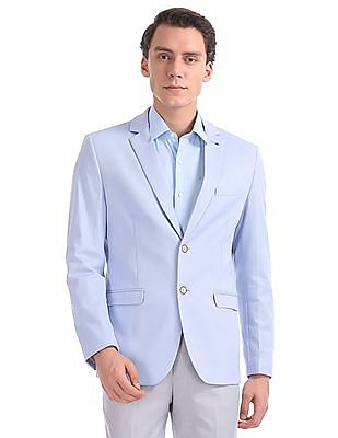 Arrow Zero Calorie Slim Fit Patterned Blazer