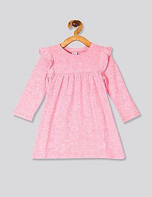 GAP Pink Toddler Girl Ruffle Softspun Dress