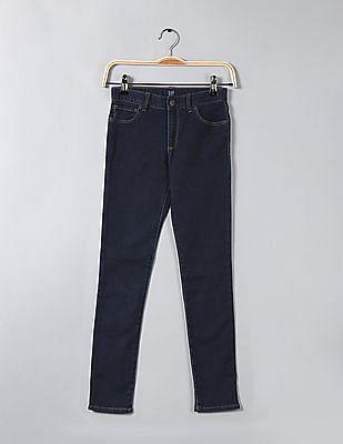 GAP Girls Super Skinny Fit Rinsed Jeans
