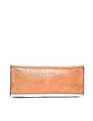 GUESS Metallic Trim Colour Block Hand Bag