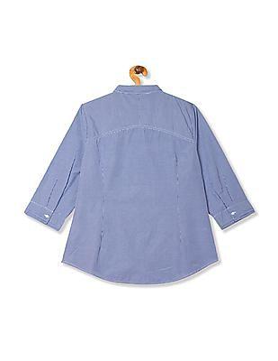 Arrow Woman Regular Fit Check Shirt