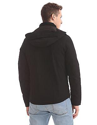 U.S. Polo Assn. Detachable Hood Padded Jacket
