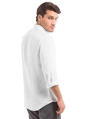 Gant Fitted Linen Shirt