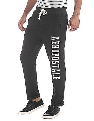 Aeropostale Regular Fit Appliqued Track Pants
