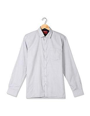 Excalibur Slim Fit Patterned Shirt