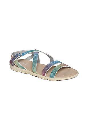 The Children's Place Girls Double Strap Boardwalk Sandals