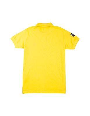 U.S. Polo Assn. Kids Boys Pique Polo Shirt