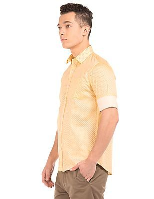 Arrow Slim Fit Printed Shirt