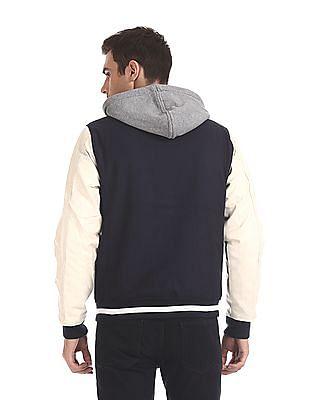 Aeropostale Colour Block Hooded Jacket
