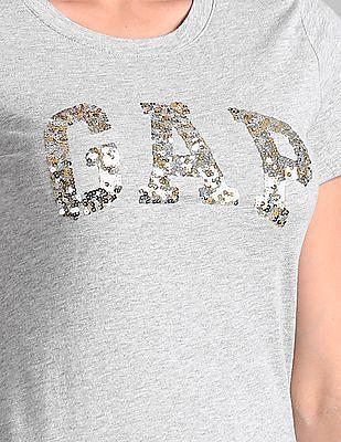 GAP Sequin Logo Tee