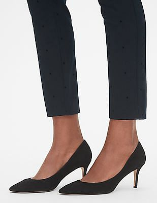 GAP Women Blue Skinny Ankle Pants