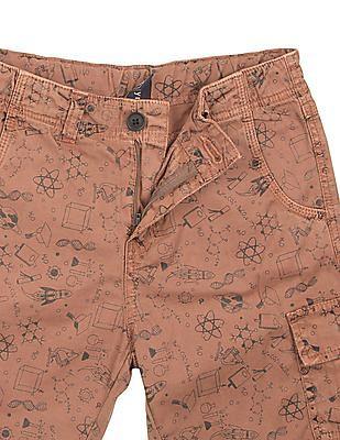 Cherokee Boys Printed Cargo Shorts