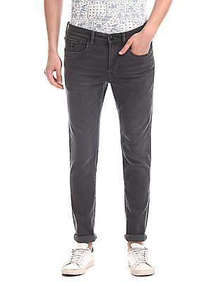 U.S. Polo Assn. Denim Co. Grey Regallo Skinny Fit Stone Wash Jeans